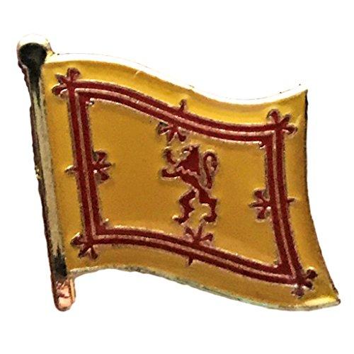 Backwoods Barnaby Royal Flag of Scotland (lion) Lapel Pin