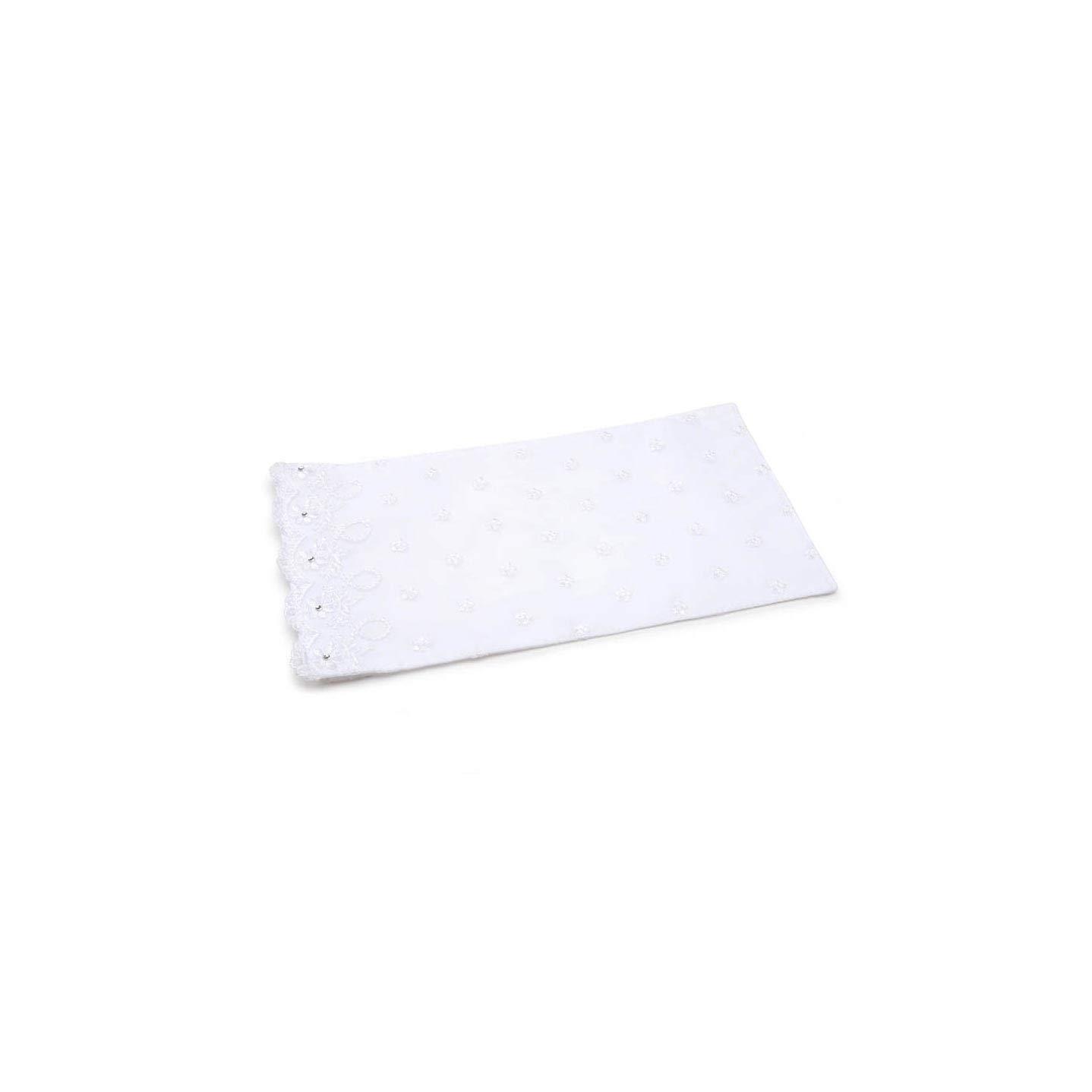 Darice Bulk Buy DIY Victoria Lynn White Sat inch Bouquet Wrap Rhinestone Trim (3-Pack VL4028