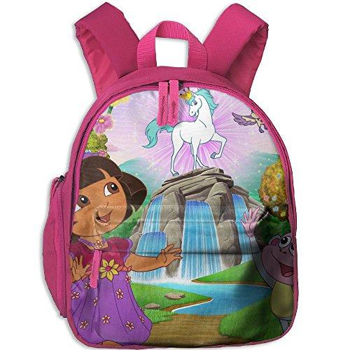 Children Dora The Explorer Pre School Bag Backpack Satchel Rucksack Handbag Pink