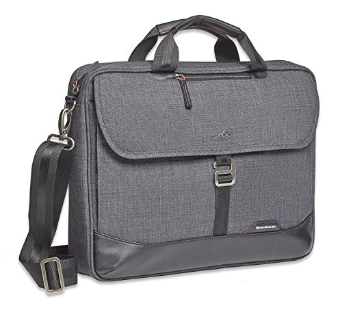 Brenthaven Collins Slim Briefcase, Graphite