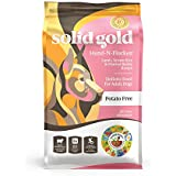 Solid Gold Hund-N-Flocken Natural Adult Dry Dog Food With Real Lamb , Brown Rice And Barley 28.5 Lb Bag