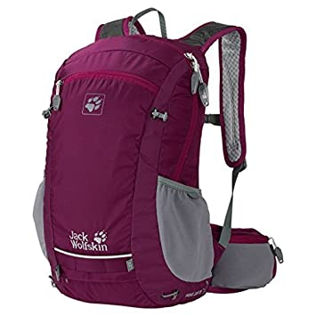 68fc3958d2 Jack Wolfskin Moab Jam Women the Backpack violet Viola (Wild Berry) Size 49  x 33 x 12 cm