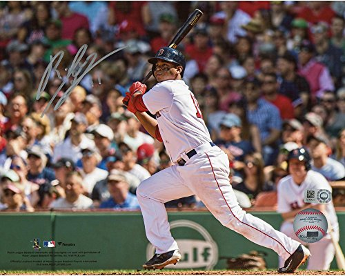 Rafael Devers Boston Red Sox Autographed 8