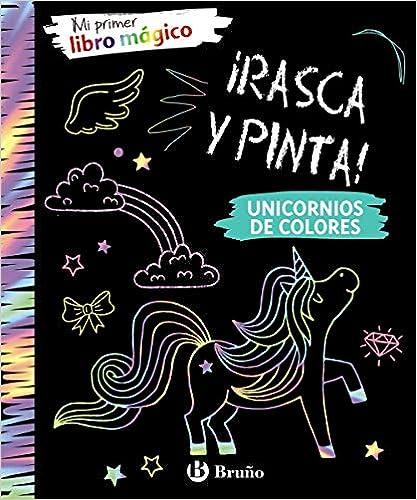 Mi Primer Libro Mágico. Unicornios De Colores (castellano - A Partir De 6 Años - Manipulativos (libros Para Tocar Y Jugar), Pop-ups - Otros Libros) por Varios Autores