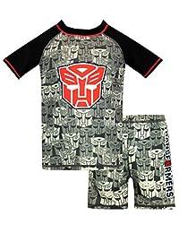 Transformers Boys' Autobots Two Piece Swim Set
