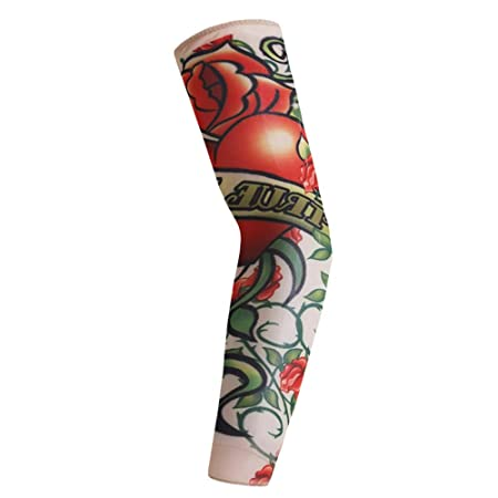 YBWHXN 6 Unids Art Arm Fake Tattoo Sleeves Cover For Unisex Party ...