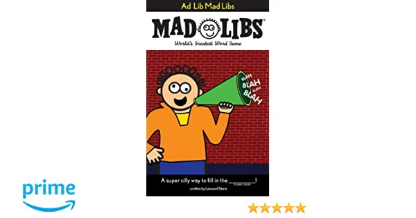 Rock n Roll Mad Libs