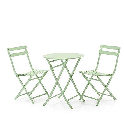 Table pliable LEQI Moderne Minimaliste En Fer Forgé Table Et ...