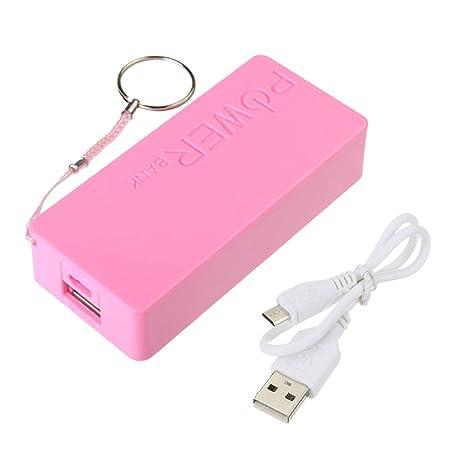 5600 mAh USB portátil Batería cargador externo Power Bank ...