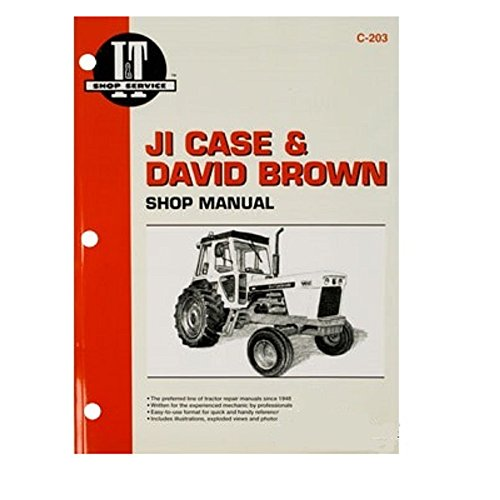 SMC293JI New IT & Shop Service Manual Made for Case-IH Tractor Models 770...