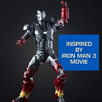 Hasbro Marvel Legends Series Marvel Studios The First Ten Years Iron Man 3 Movie Iron Man Mark XXII, Pepper Potts, The Mandarin 6-inch Figure 3-Pack (MCU)