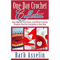 One-Day Crochet Collection: Easy Afghan, Christmas, and Other Crochet Projects You Can Complete in One Day