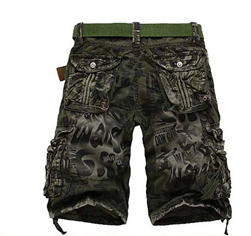 82065156a8 chic METERDE Men s Camouflage Army Summer Casual Sports Pockets Cargo Shorts