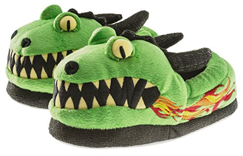 Trimfit Boys Dragon Slippers Moccasin, 13/1