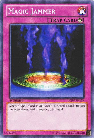 (Yu-Gi-Oh! - Magic Jammer (LCJW-EN129) - Legendary Collection 4: Joey's World - 1st Edition -)
