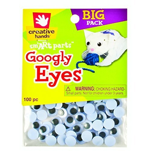 Creative Hands Googly Eyes, 10mm (10mm Google Eyes)