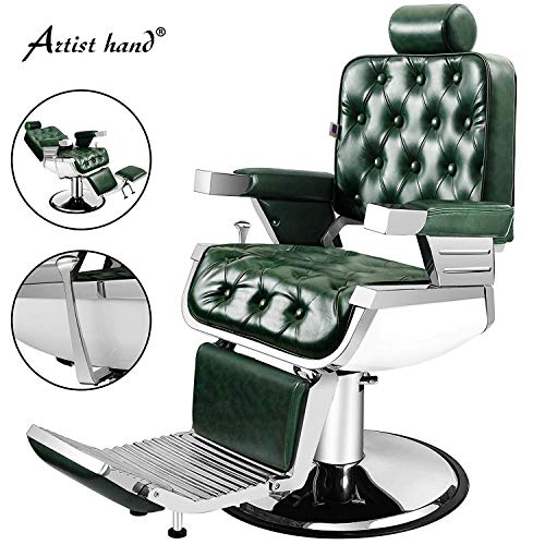 Artist Hand Barber Chair Vintage Heavy Duty Hydraulic for sale  Delivered anywhere in USA