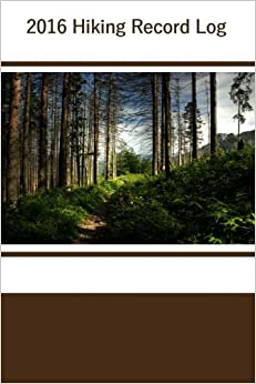 Book 2016 Hiking Record Log