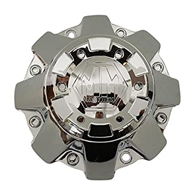 Mayhem Wheels C108070C-L C-231-1 C108010C01 Chrome Wheel Center Cap: Automotive