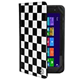 VanGoddy Mary 2.0 Standing Portfolio Case for DigiLand 10.1 inch Tablets, Checker