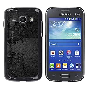 TopCaseStore / la caja del caucho duro de la cubierta de protección de la piel - Black Texture - Samsung Galaxy Ace 3 GT-S7270 GT-S7275 GT-S7272