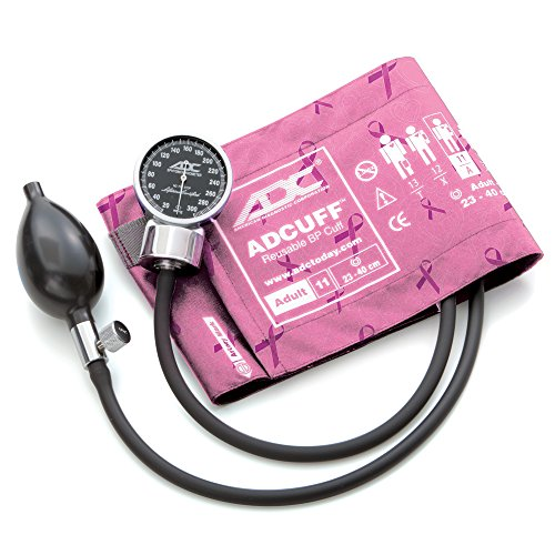 Sphygmomanometer Series Aneroid Precision (ADC DIAGNOSTIX 700 Pocket Aneroid Sphygmomanometer, Breast Cancer, Adult)