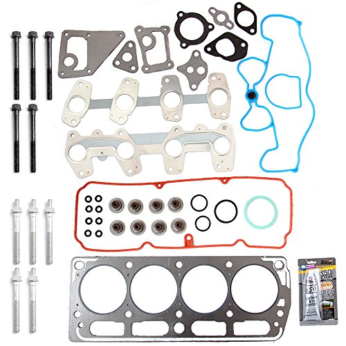 SCITOO Compatible with Head Gasket Bolts Kit, fit1998-2003 Chevrolet?Cavalier S10 GMC Sonoma Isuzu Hombre Pontiac Engine Head Gasket Bolts Set Automotive Replacement Gasket ()