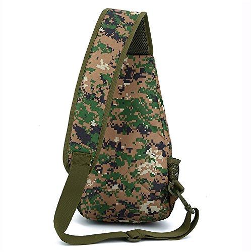 Camouflage para Hombro Jungle Styhatbag CP Digital Hombre al Bolso vzqwxYC