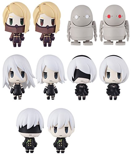 Square Enix Nier Automata Trading Arts Random Blind Box Mini Set of 10 Action Figure