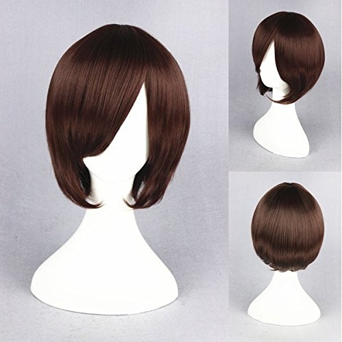 Womens Angelina Brown Wig (Prettybuy 11