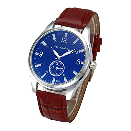 Top Plaza Arabic Numerals Leather