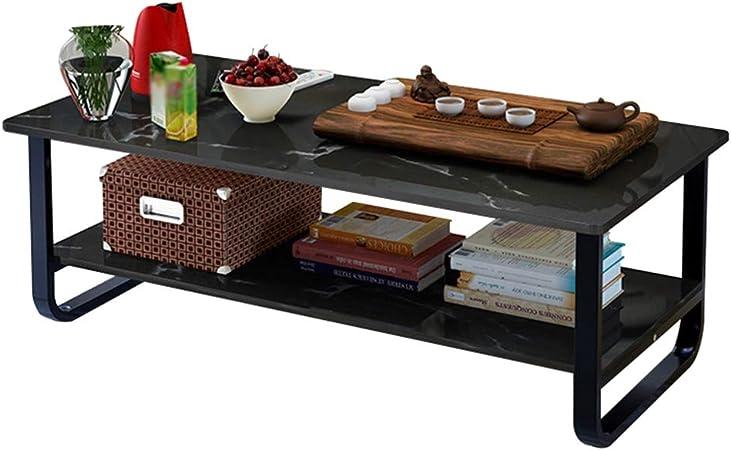 El Hotel Cafetera Mesa pequeña, Sala de té Decoración Comedor Comando Tabla Sala de Escritura de televisión Pintura Tabla BFF (Color : Black, Size : 120 * 60 * 41CM): Amazon.es: Hogar