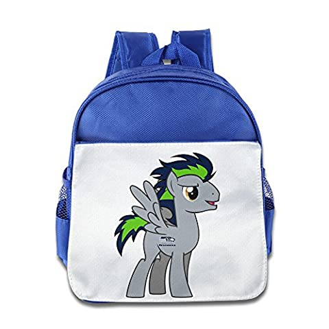 Fennessy Custom Personalized Seattle Football Team Boys And Girls School Backpack For 1-6 Years Old - Seattle Seahawks Disc