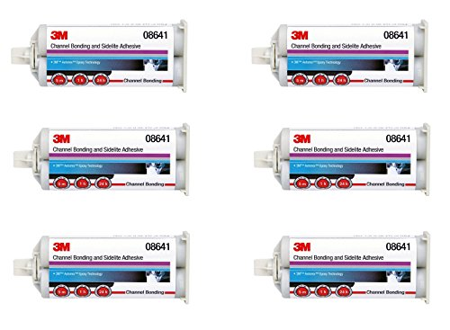 3M  08641 Channel Bonding and Sidelite Adhesive (6) by 3M  (Image #1)
