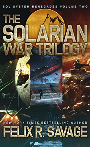 Solarian War Trilogy full length thrilling ebook product image
