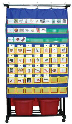 Carson Dellosa Double Smart Pocket Chart Pocket Chart (158002) ()