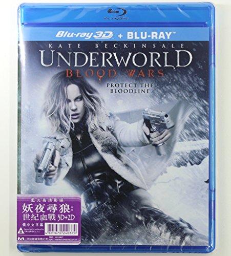 Underworld: Blood Wars (2D + 3D versions) (Region Free Blu-Ray) (Hong Kong Version / Chinese subtitled) 妖夜尋狼: 世紀血戰