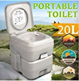 K&A Company Portable Camping Kids Removable Toilet Potty Training Urinal Children Frog Baby Boys Pee 20L Capacity in Gray
