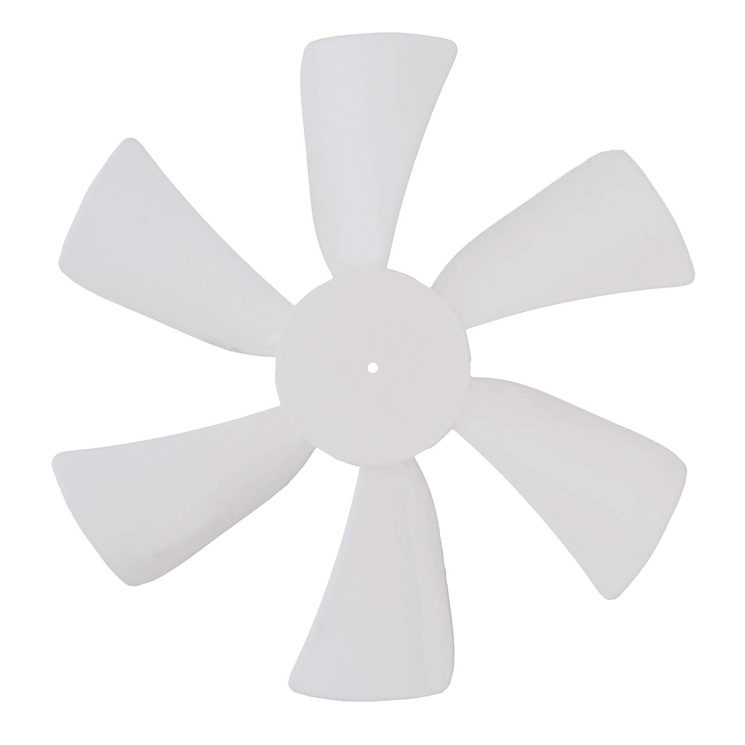 """Dumble Fan Blades Replacement with 0.094"""" Round Bore, 6"""" Inch Black RV Bathroom Fan Blade Replacement Camper Fan Blade"""