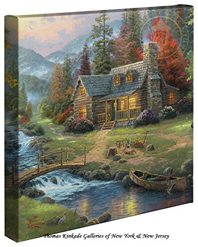Mountain Paradise – Thomas Kinkade Wall Decor