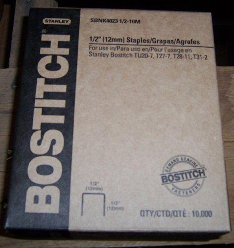 BOSTITCH STAPLE,4023,1/2CN,1/2,GAL Model SBNK40231/2-10M