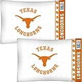 NCAA Texas Longhorns Football Set of Two Pillowcases