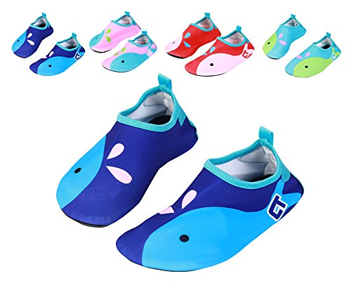 Nachvorn Wetsuit Barefoot Skin Water Shoes For Kid's Women's Men's Aqua Socks Surf Pool Yoga Beach Swim Exercise,Dark - Wetsuit Wearing