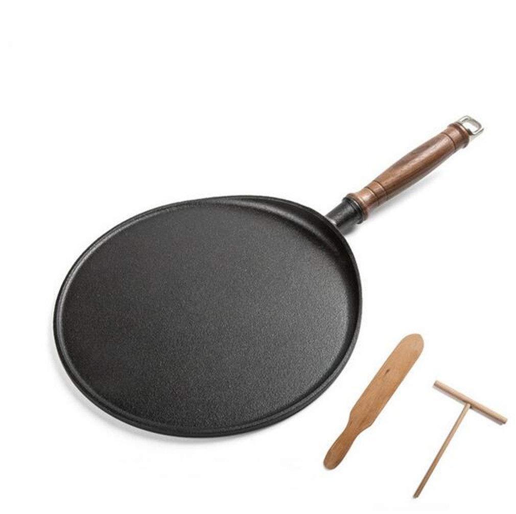 NUO-Z Nonstick Coating Bakelite Handle Pan Pot - Easy Pancakes Omelette Fried Eggs Tortilla Pita Bread Crepes