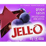 JELL-O Jelly Powder, Grape, 24 Count, 2040g
