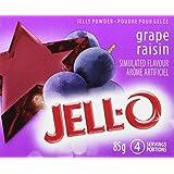 JELL-O Jelly Powder - Grape 85G x 24