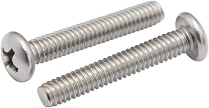 Phillips Drive Quantity 50 Pieces by Fastenere Bright Finish 1//4-20 x 5//8 Pan Head Machine Screws Machine Thread Full Thread Stainless Steel 18-8
