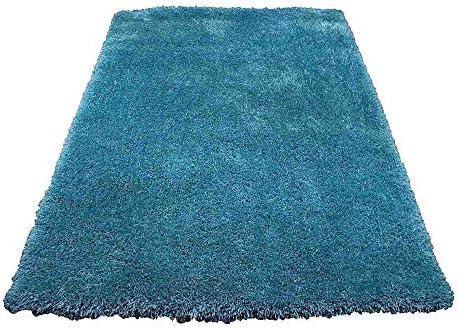 LA Rug Linens Branding Romance Design Turquoise Blue Color 8×10 Feet 1 per Pack