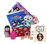 Don't Be COLD – Be My Valentine! Penguin Valentine's Day Toy and Candy Gift Basket