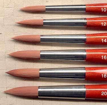 DaVinci Cosmotop Watercolor brush Round